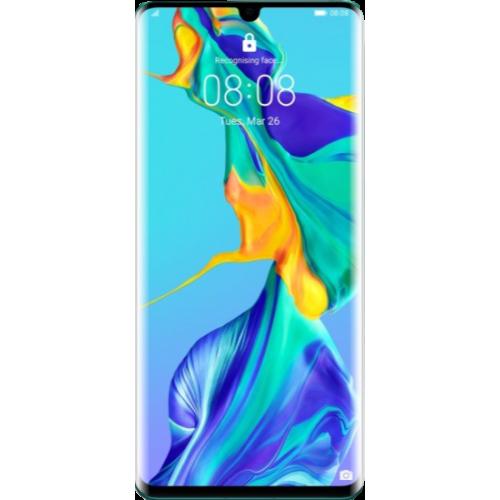 Huawei P30 Pro aurora front view