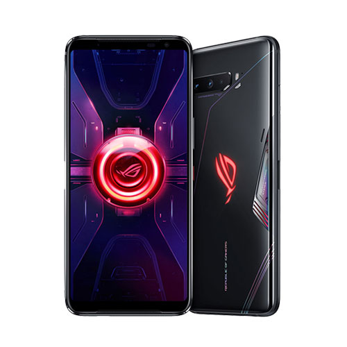 Asus ROG Phone 3 tencent version 12GB RAM black front and back view