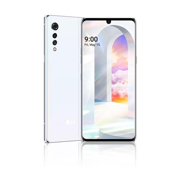 LG Velvet 5G White