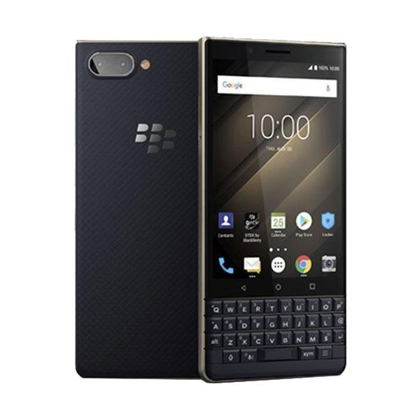 blackberry key2 le refurbished gold